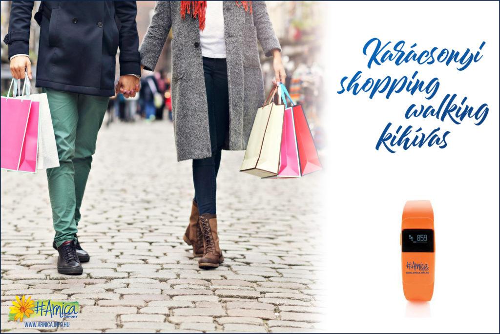 Karácsonyi shopping-walking challenge – Arnica SPORT kihívás - Arnica RUN